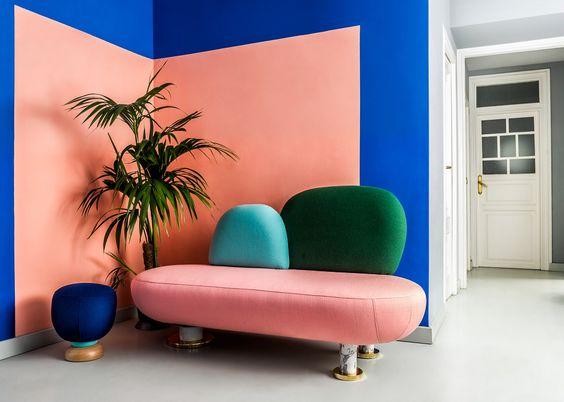 Il colore nell 39 interior design gattuso contract for Arredamento postmoderno